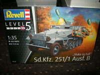 1:35 Revell Level 5 Sd.Kfz.251/1 Ausf. B Stuka zu Fuss Nr. 03248 OVP