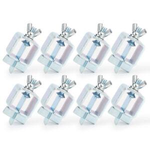 8 Set Butt Weld Clamps Welding Clamp Panel Lock Grip Sheet Metal Fasten