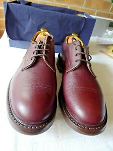 Tricker's Matlock Zug Grain Men's Shoes Brown – BNIB – UK 10.5 6 (Wide)