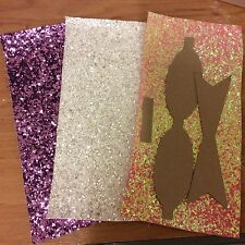 """4.5"""" HAIR BOW KIT PLUS  GLITTER FABRIC TO MAKE YOUR OWN HAIR CLIP BOWS"""