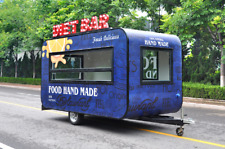 G-Dreamer Enclosed Concession Trailer/Bbq Food Truck/Catering Kitchen Trailer
