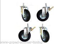 PFT G4 Mai Putzmaschine Luftrad Rad Räder Verputzmaschine Reifen Mantel 4 Stück