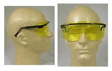 Uvex OTG'S Safety Glasses with Amber Lens - Over The Glasses Safety Glasses