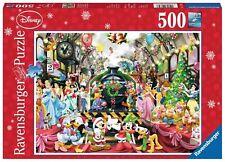 Ravensburger RB147397 Disney Christmas Train 500 Piece Jigsaw Puzzle - Multi-Colour