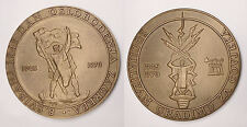CROATIA 1945-1970 Zagreb 25th Anniversary of Liberation of fascism large plaque