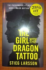 The Girl with the Dragon Tattoo by Stieg Larsson (2011, Paperback, Movie Tie-In)