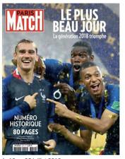 PARIS MATCH 3610 Coupe Monde 2018 France Football