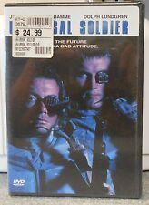 Universal Soldier (DVD, 2001) RARE VAN DAMME DOLPH LUNDGREN BRAND NEW