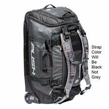 Push Division One Medium Roller Paintball Gear Bag - Black w/ Black Straps