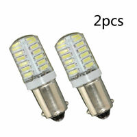 2PC BA9S T11 T4W 3014 LED 24-SMD Car Side Light Bulb Interior Lamp White Set