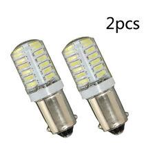 New BA9S T11 T4W 3014 LED 24-SMD Car Side Light Bulb Interior Lamp White 12V 2W