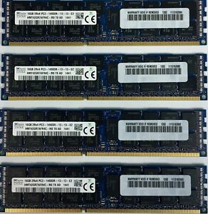 64GB 4x 16GB Hynix ORIGINAL 1866MHz DDR3  Memory for Late 2013 APPLE Mac Pro