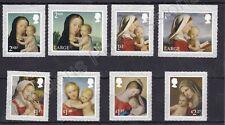 More details for gb qeii mnh stamp set 2017 christmas madonna & child sg 4019-4026
