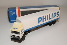 ± LION CAR DAF 2500 TRUCK WITH TRAILER PHILIPS NEAR MINT BOXED