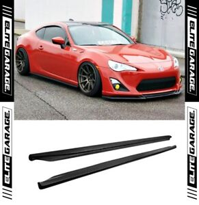 Chargespeed Style CS Side Skirts Lip For Toyota 86 / Subaru BRZ (12-20) FRS GT86