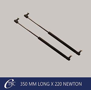 1 Pair Gas Struts / Springs 350mm - 220n Caravan Trailer Canopy Toolboxes Strut