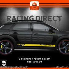Sticker CITROEN CACTUS RACING C4  aufkleber adesivi pegatina  00EI J