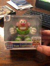 DISNEY TOY STORY 4 Movie Mr Potato Head Mini BUZZ LIGHTYEAR Figure New