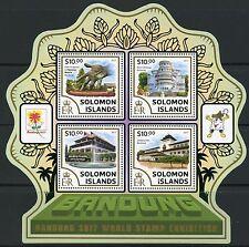 Solomon Islands 2017 Bandung World Stamp Exhibition Sheet Mint Nh