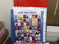 2000 - 2005 Best Pop Songs piano 320 pages vocal chords music book