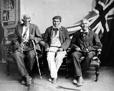 New 8x10 Photo: Last Surviving Six Nations Veterans of the War of 1812