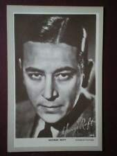 POSTCARD GEORGE RAFT  AMERICAN FILM ACTOR AND DANCER IDENTIFIED WITH PORTRAYALS