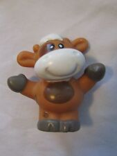LITTLE TIKES Chunky STANDING FARM COW ANIMAL for Farmer Dollhouse People