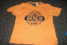 BOYS BENCH T.SHIRT, 2/3 YEARS, USED ITEM .