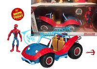Disney Store SPIDERMAN & MOBILE PLAYSET Spiderverse TOYBOX Avengers END 2019