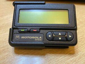 Motorola Advisor Pager Beeper