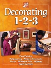 DECORATING 1-2-3 FROM HOME DEPOT 1-2-3 BOOKS 416 PAGES NEW CONDITION