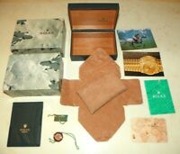 Original Rolex Box u. Booklet Set - Herren Unisex Sport Datejust - Ref. 68.00.08