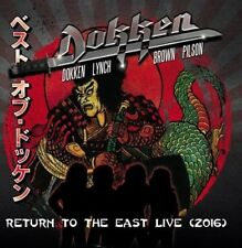 Dokken - Return To The East Live 2016 [New CD] With DVD, Japan - Import