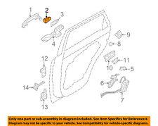 KIA OEM 11-15 Sorento Lock Hardware-Rear Door-Handle Cover Left 836522P010