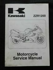 2002 2003 2004 Kawasaki 1200 ZZR1200 Ninja Moto Service Manuel