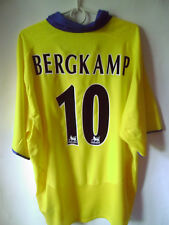 BERGKAMP !!!! 2003-05 Arsenal Away Shirt Jersey Trikot XXL 2XL