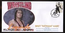 Bret Hitman Hart Wrestling Legends Souvenir Cover