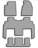 Carpet Floor Mats For Models with 2nd Row Captain Seats - Choice of Color