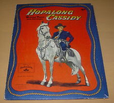 HOPALONG CASSIDY  WRITING PAPER WITH ENVELOPES AND FOLDER  1950  STATIONARY