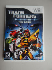 Transformers Prime: The Game Complete! Nintendo Wii