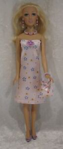 """Made to fit 16"""" ALEX Madame Alexander  #46 Dress, Purse, Necklace & Earrings set"""