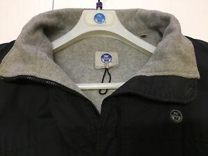 FELPA uomo Jacket NORTH SAILS Hooded Full zip 691385 SOFTSHELL HOODIE NAVY BLUE