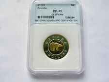 2003 CANADA $2 DOLLAR PROOF TOONIE COIN