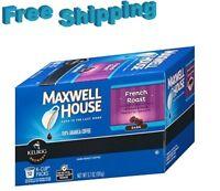 Maxwell House French Roast Dark Roast Coffee Keurig k-cups