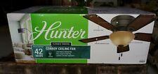 Hunter Fan Company 42 Inch Conroy Low Profile Ceiling Fan, (Open Box)