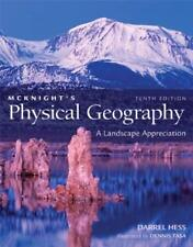 Laboratory Manual for Physical Geography :  by Hess & McKnight