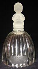 1978 Goebel Glass Bell with Kneeling Girl