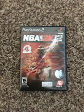 NBA 2K12 (Sony PlayStation 2, 2011) Michael Jordan PS2 Complete!