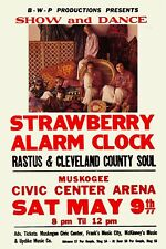 The Strawberry Alarm Clock at Muskogee Civic Center Arena Concert Poster 1967