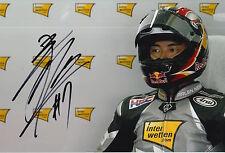 Hiroshi Aoyama Firmato a Mano 12x8 foto MotoGP.